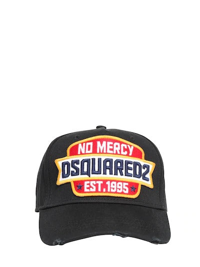 Dsquared2 No Mercy Patch Canvas Baseball Hat
