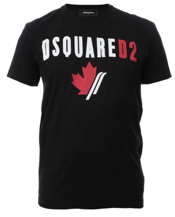 Dsquared2 Cool Fit T-Shirt with Print Black