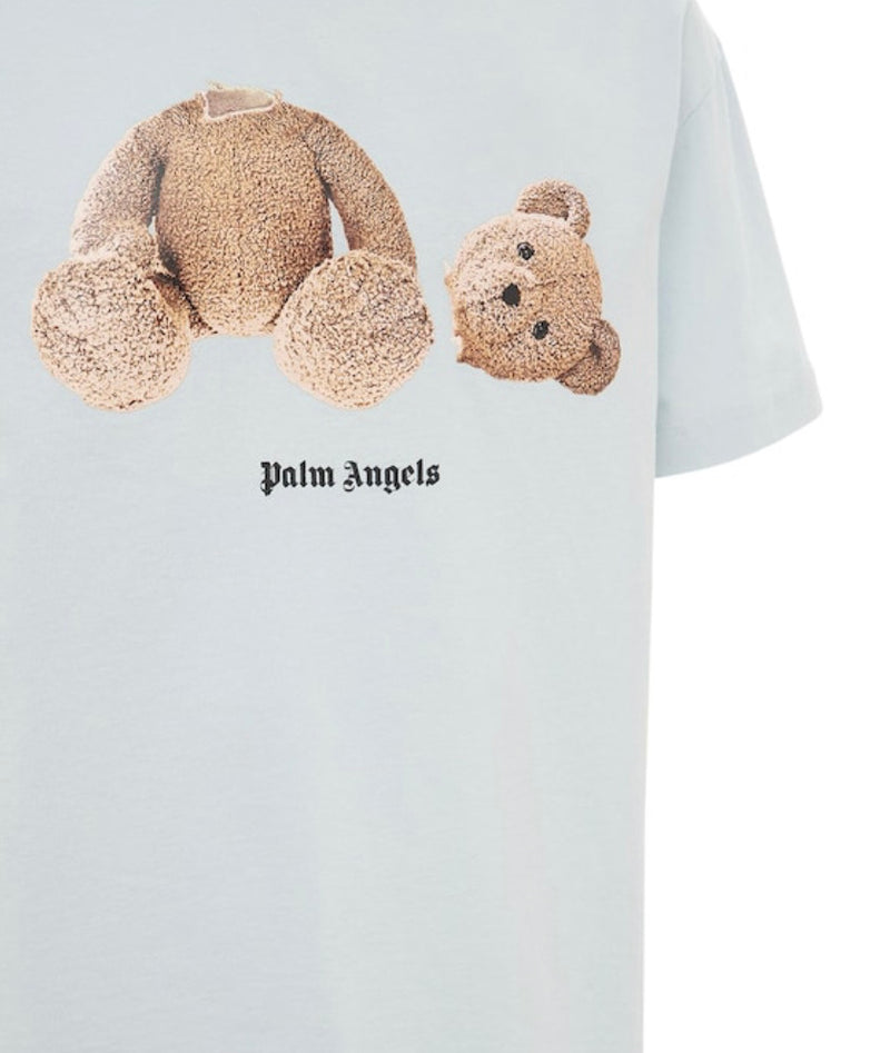 Palm Angels Bear T-Shirt Sky Blue