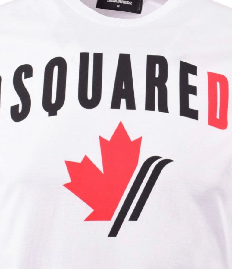 Dsquared2 Cool Fit T-Shirt with Print White