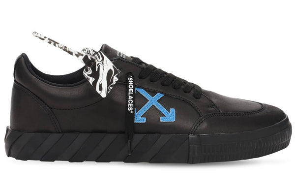 Off-White Vulcanized Leather Low Sneakers