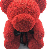 "Large Teddy Rose Bear - 27"" Tall"