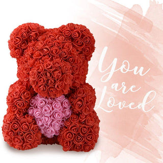 Heart Rose Bears