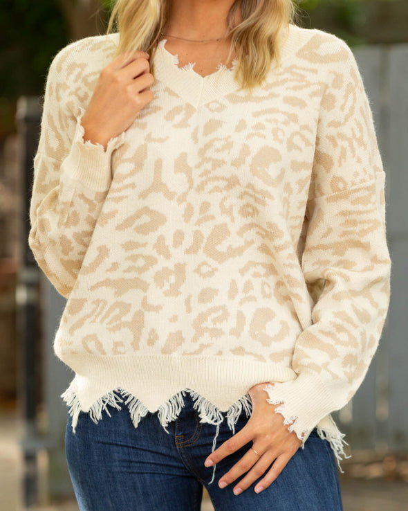 Wild At Heart Leopard Sweater