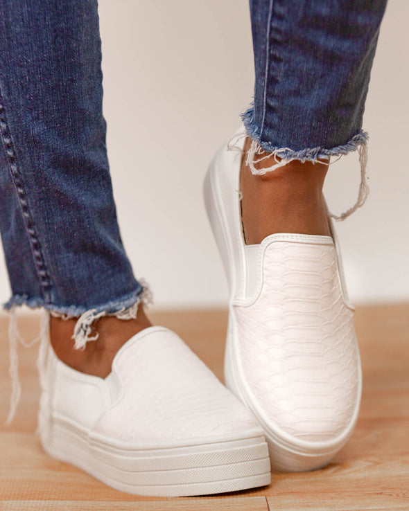Keeping It Casual Slip On Sneakers