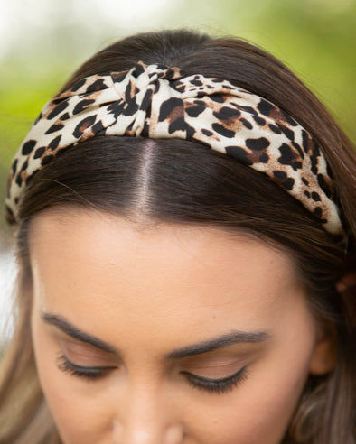 Can't Be Tamed Leopard Headband
