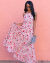 Spin Me Around Floral Maxi Dress