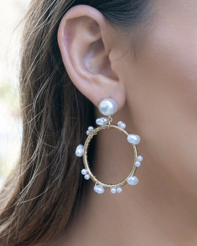 Just Right Pearl Earrings