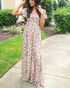 Away We Go Floral Maxi Dress