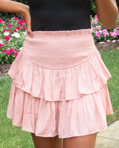 Weekend Dreaming Smocked Skirt