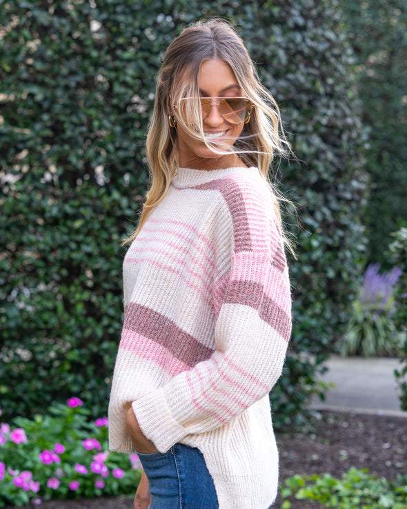 The Perfect Match Striped Sweater
