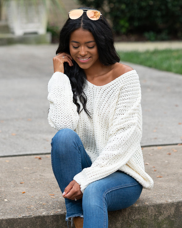 Style Made Easy Oversized Knit Sweater