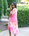 Summer Sunset Tie-Dye Dress
