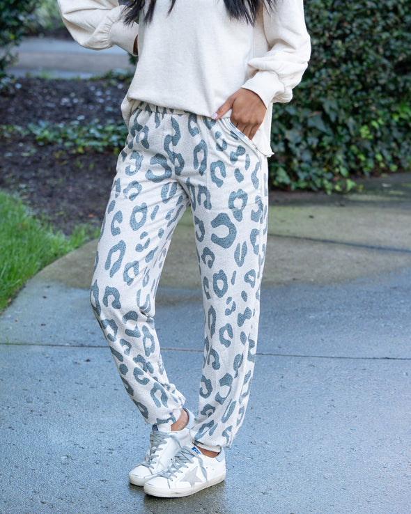 Call Of The Wild Leopard Joggers