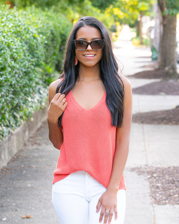 Best Of All Coral Knit Tank