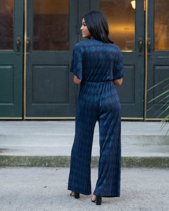 Your Moment Shimmer Jumpsuit