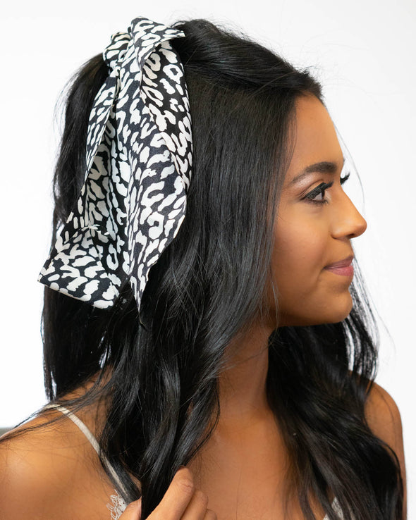 Never Look Away Hair Scarf