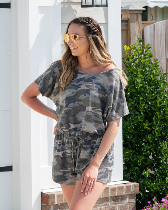 The New Classic Camo Romper