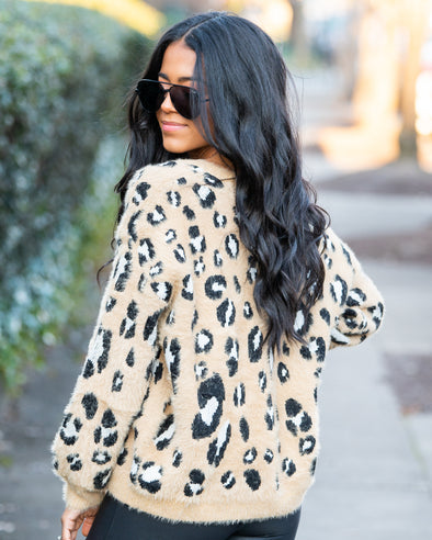 Welcome To The Jungle Leopard Sweater