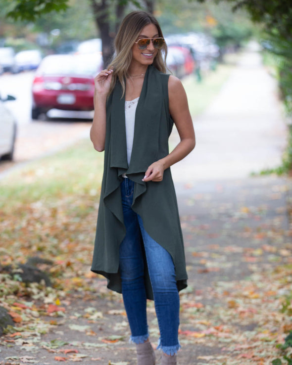 On The Go Olive Duster