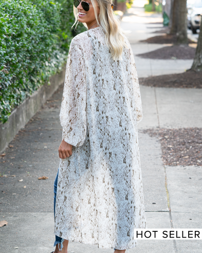 Places To Go Snake Print Duster