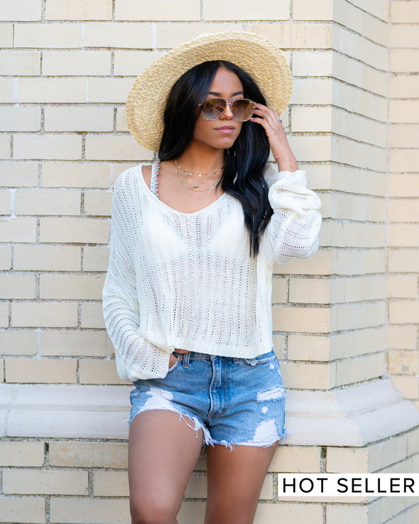 Out Of Office Knit Sweater