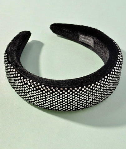 Up And Coming Rhinestone Headband