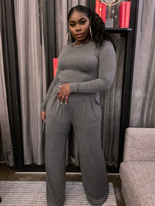 Ryan Too Crop Top And Pant Set