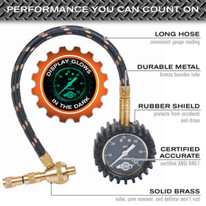 Rapid Tire Deflator for Airing Down Offroad Tires