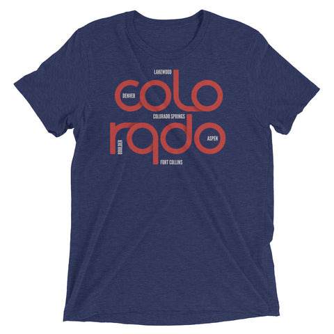 Colorado State Flow Tri-Blend Tee