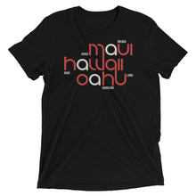 Load image into Gallery viewer, Hawaii State Flow Tri-Blend Tee
