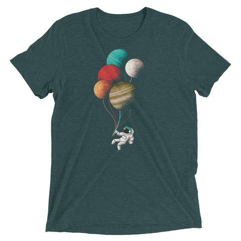 Baloon Planets Tri-Blend Tee