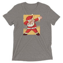 Load image into Gallery viewer, Dabbing Santa Tri-Blend Tee