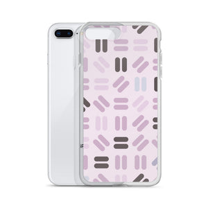 Purple Equals iPhone Case