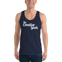 Load image into Gallery viewer, The Creative Geek classic tank top (unisex)
