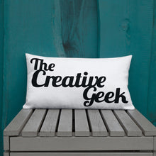 Load image into Gallery viewer, The Creative Geek Premium Pillow