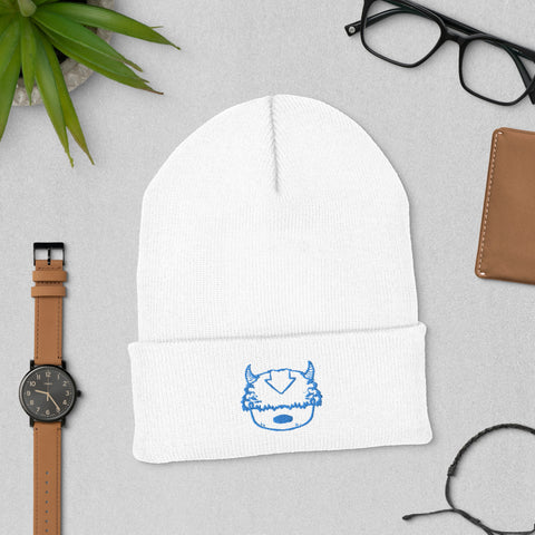 Appa Embroidered Cuffed Beanie
