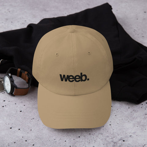Weeb Dad Hat (Black) (5 color options)