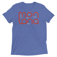 Load image into Gallery viewer, Montana State Flow Tri-Blend Tee
