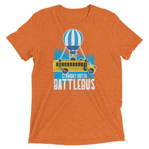 Straight Outta Battlebus Tri-Blend Tee