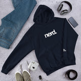 Nerd Unisex Hoodie (10 color options)