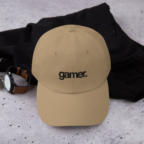 Gamer Dad Hat (Black) (6 color options)