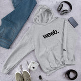 Weeb Unisex Hoodie (Black) (8 color options)