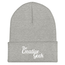 Load image into Gallery viewer, The Creative Geek Cuffed Beanie