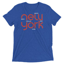Load image into Gallery viewer, New York State Flow Tri-Blend Tee