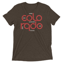 Load image into Gallery viewer, Colorado State Flow Tri-Blend Tee