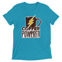 Load image into Gallery viewer, Coffee Powered Tri-Blend Tee