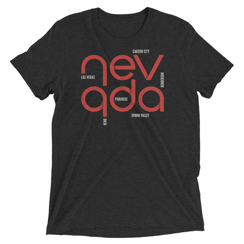 Nevada State Flow Tri-Blend Tee