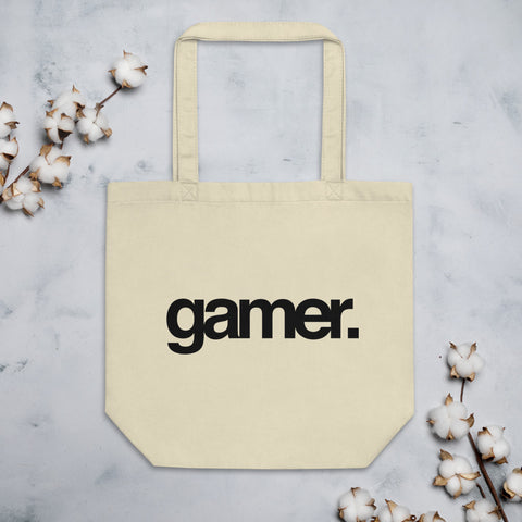 Gamer Eco Tote Bag (Black)