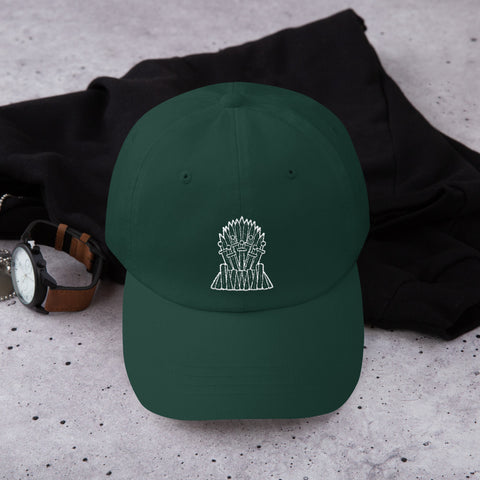 Game Of Thrones Iron Throne Embroidered Dad Hat